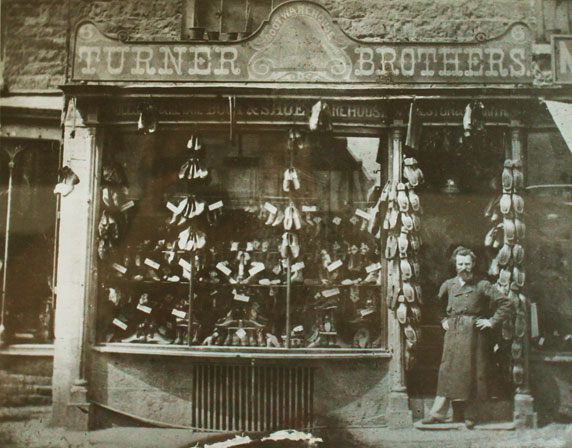 Turner Bros. Shopfront circa 1873